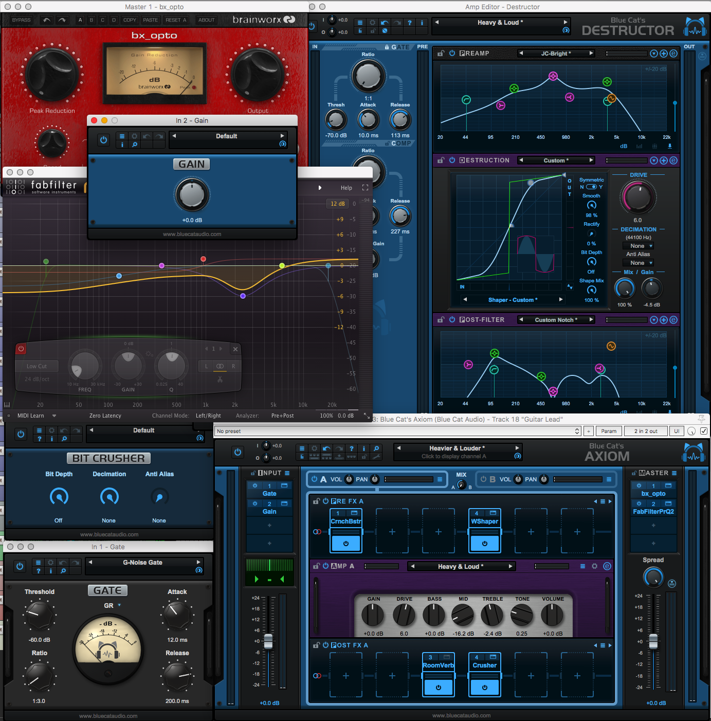 Blue Cat Axiom Plugin Review
