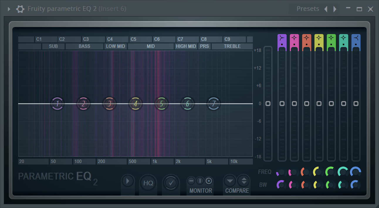 fruity loops bass crackling