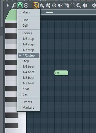 fl studio 12 piano roll settings