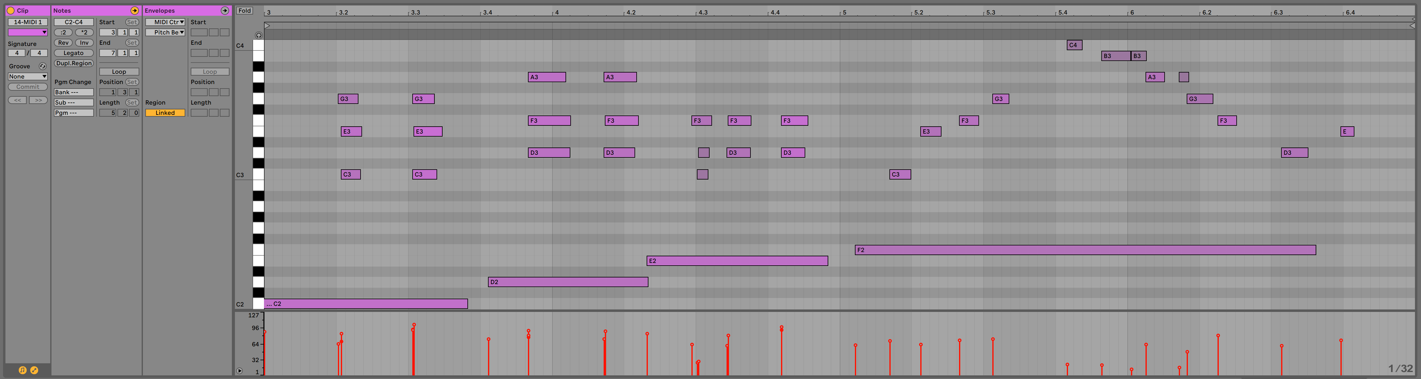 Editing music in Ableton Live: An Overview