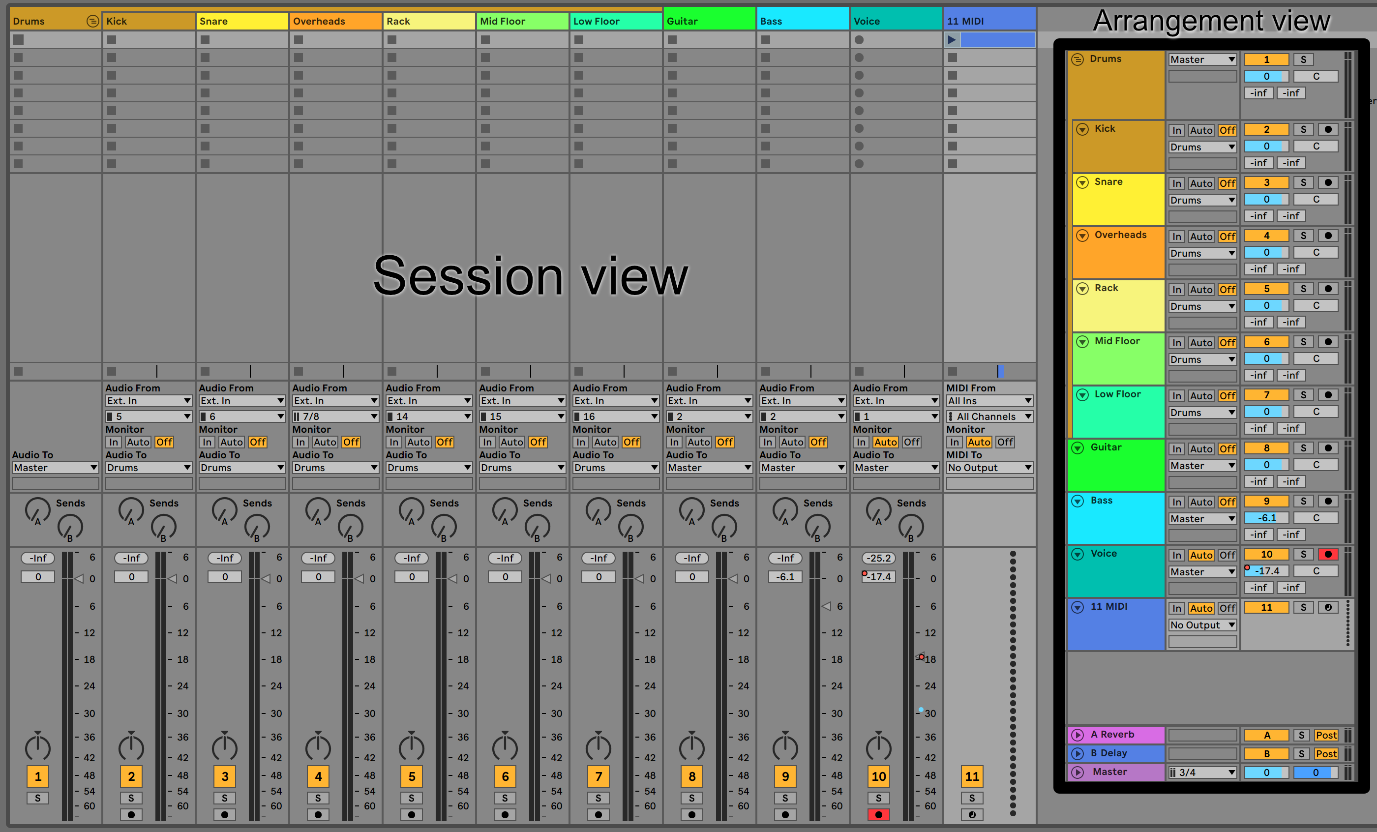 Mixing music in Ableton Live: An Overview