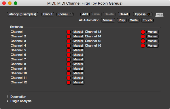 MIDI (Simple) Channel Filter