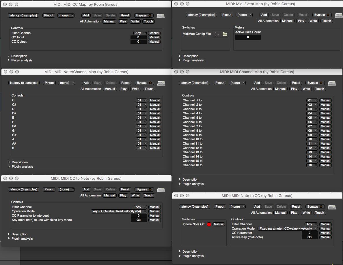 Mixbus MIDI Editing
