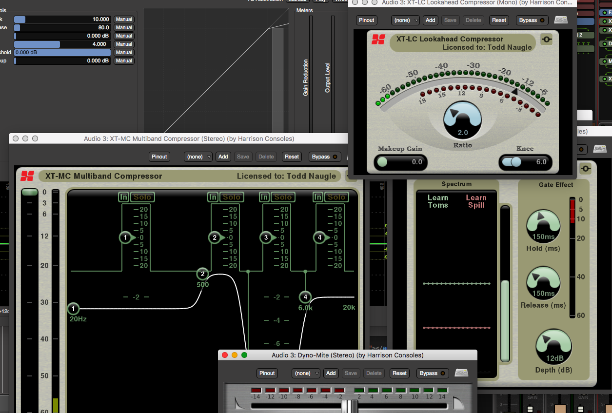 Review Of Mixbus Effect Plugins Phase Correlation Meter