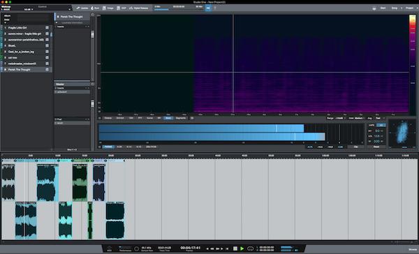 DAW Chart v6 and Studio One 3 5