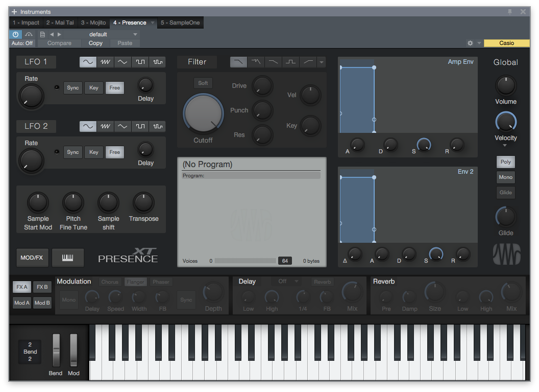 Studio One instruments review