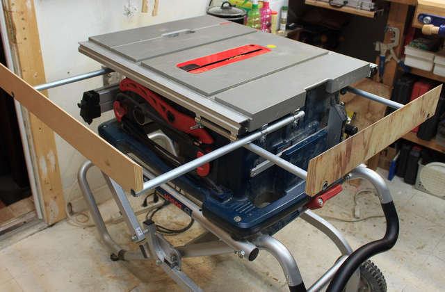 Making A Bosch Ts1002 Ts1003 Ts1008 Ts1016 Extension Fence