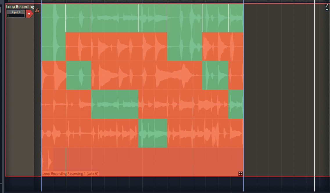 Audio Loop Recording
