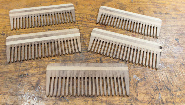 All of the combs